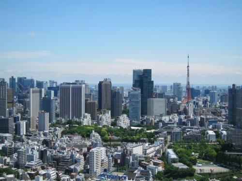 東京タワーもくっきり☆