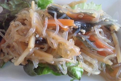 春雨サラダ!風味よくさっぱりとおいしい!