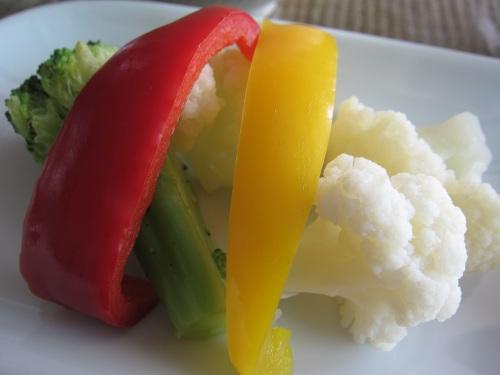 ビタミンカラーの温野菜サラダ!